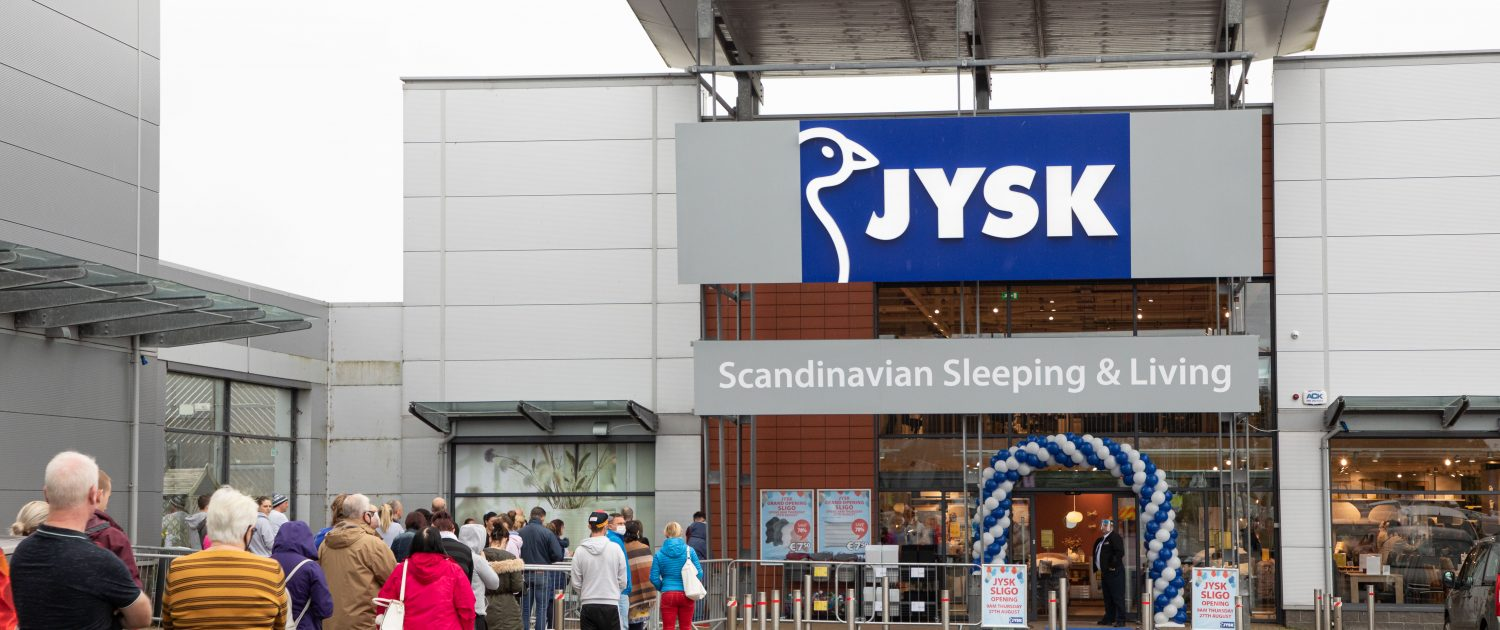 Jysk Opens at Sligo Retail Park